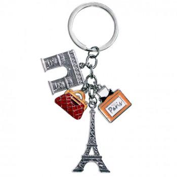 porte clé 16 souvenirs paris