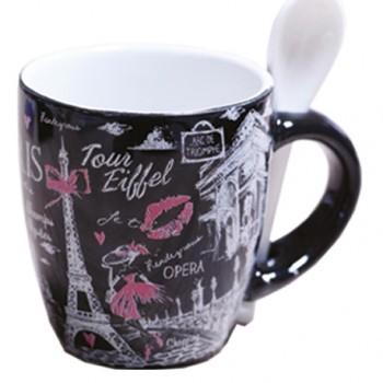 Mug avec cuiller 60 souvenirs paris