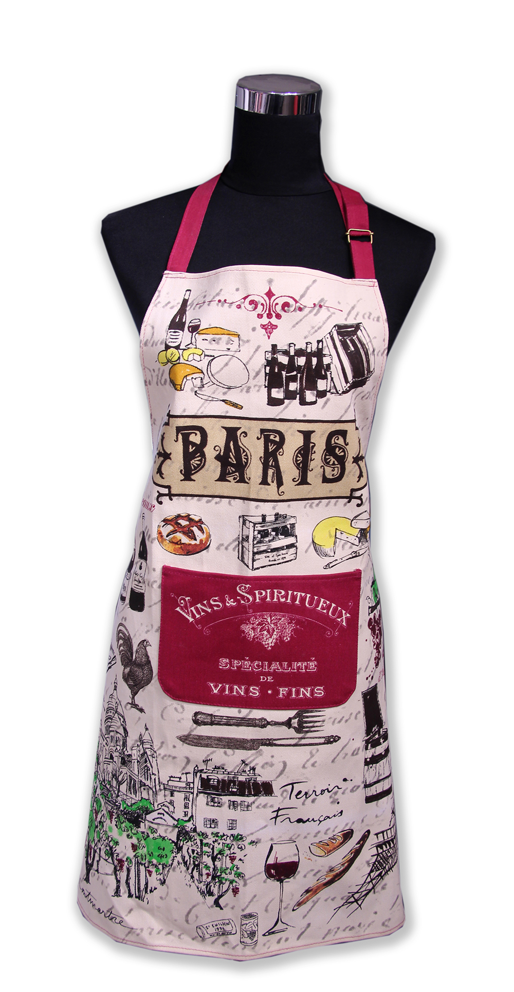 Tablier de cuisine 37 souvenirs paris paris glam for Tablier de cuisine paris
