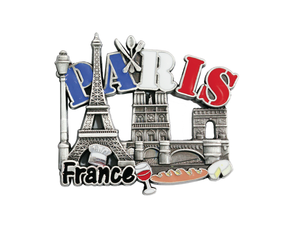 Magnet 32 souvenirs paris