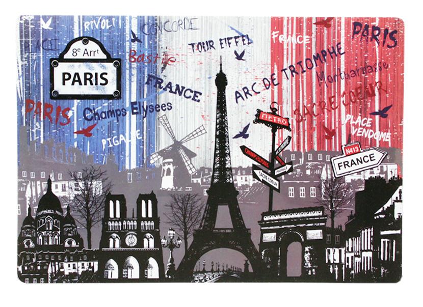 Set de table 23 souvenirs paris paris glam for Set de table paris