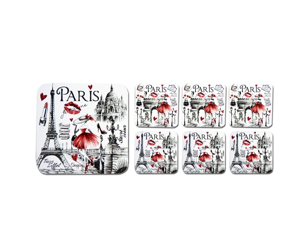 new styles d8853 c50ce Dessous de verre Shopping - Paris glam